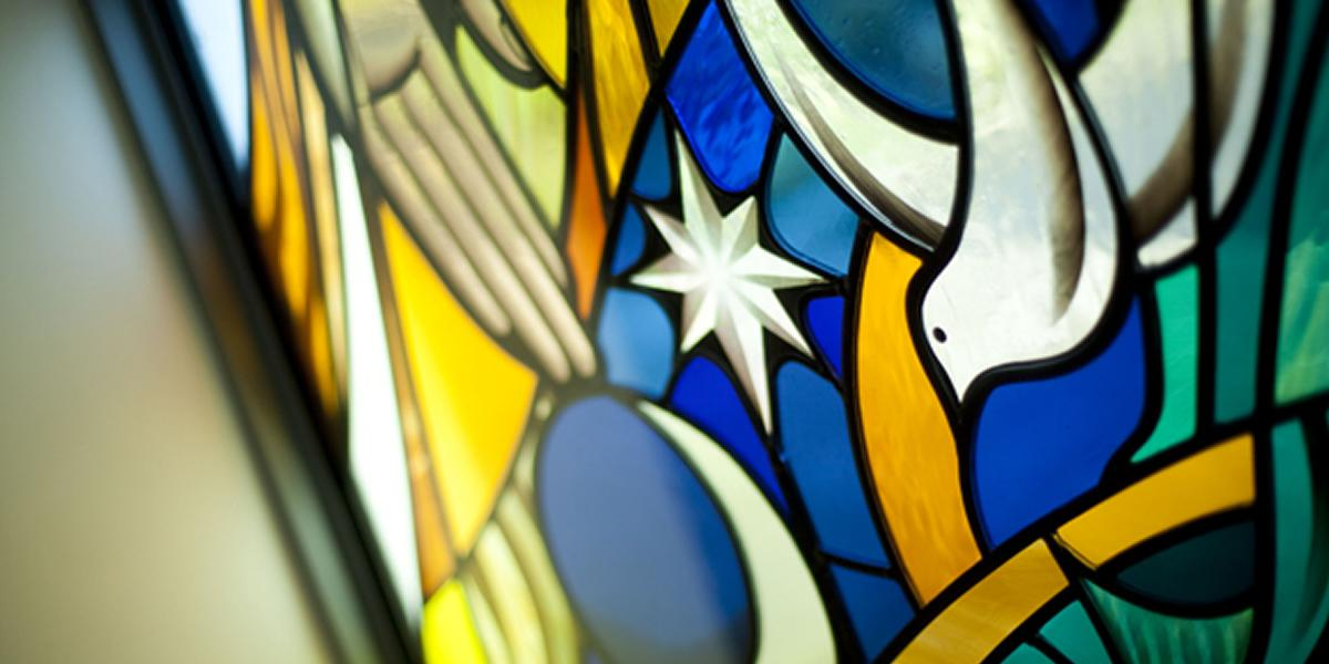 Protestant Christian - Stained Glass Window